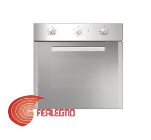 Forno incasso 60cm elettrico ventilato multifunzione 64lt cl a gfs52ix glem gas ebay - Forno incasso a gas ventilato ...