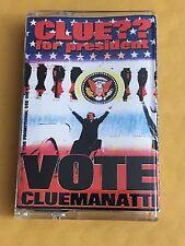DJ CLUE For President Vote Cluemanatti CLASSIC 90s Hip Hop NYC Mixtape Cassette