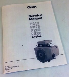 image is loading onan-p216-p218-p220-p224-engine-service-repair-