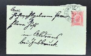 Ganzsache-Kartenbrief-10-Heller-Neumarkt-1904
