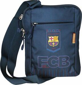 Details About Fc Barcelona Boys Shoulder Bag Barca Messanger Messenger Official Licensed