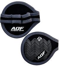 AQF Neoprene Peso Sollevamento Gel Grip Training Gym Cinghie Guanti Mano spessa COPPIA