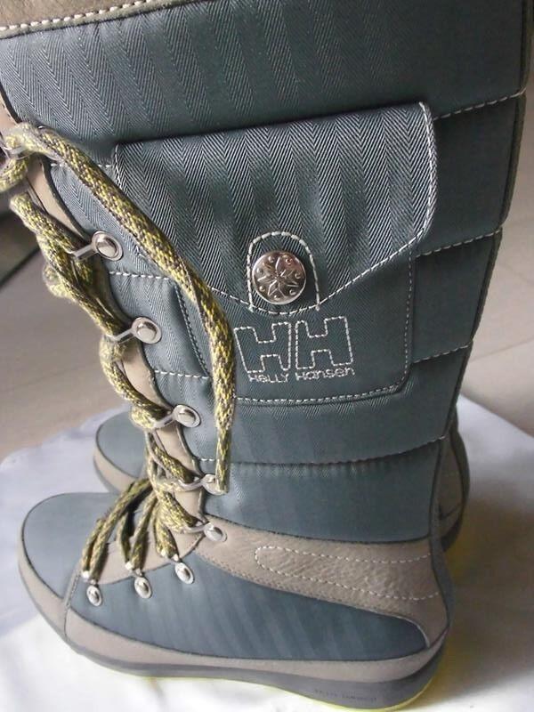 Helly Hansen Stivali da donna in tessuto-pelle, tessuto-pelle, in grigio medio, taglia 38 623493