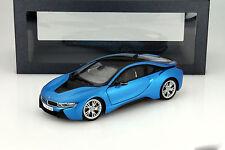Paragon 2014 BMW i8 (i12) Blue Metallic 1:18 (New Stock)
