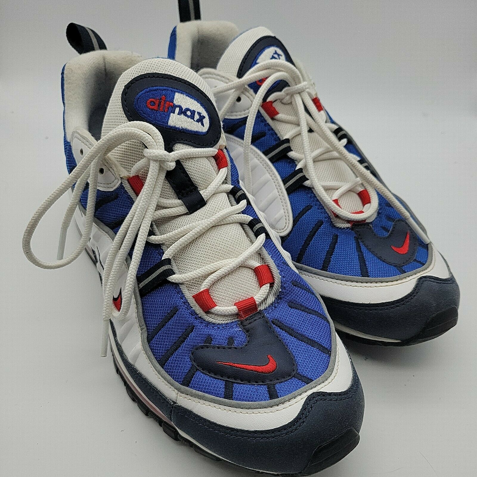 Size 13 - Nike Air Max 98 Gundam 2018 - 640744-100 for sale online ...