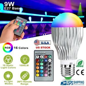 E27-9W-LED-RGB-16-Color-Changing-Magic-Lamp-Light-Bulb-With-IR-Remote-Control
