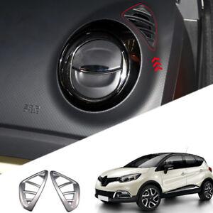 For Renault Captur 2013 2018 Abs Matte Inner Upper Air Vent