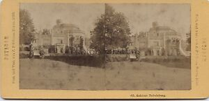 Schloss Babelsberg Germania Potsdam Stereo Da Stienm Vintage Albumina 1883