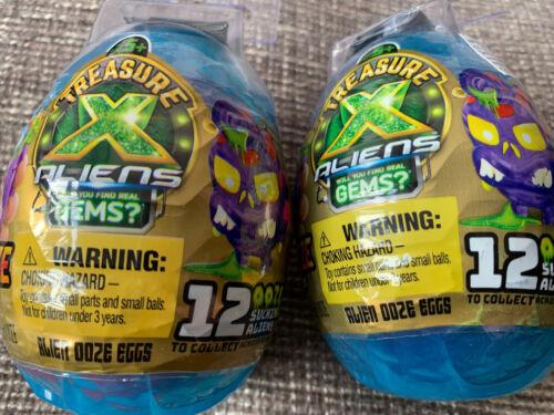 Treasure X Alien Ooze Eggs x 2