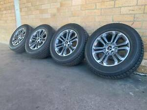2019-MITSUBISHI-TRITON-18-INCH-WHEELS-AND-TYRES-EAR-NEW-CONDITION-GM