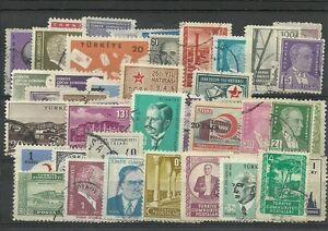 Lot de timbres de Turquie - France - Qualité: TTBE Région: Europe - France