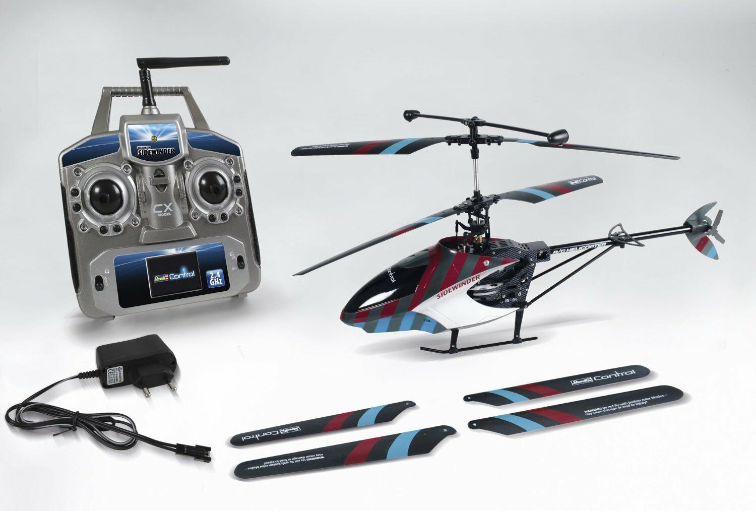 Helicopter  sidewinder  rtf 4ch ghz, REVELL CONTROL ELICOTTERO MODELLO, 24095