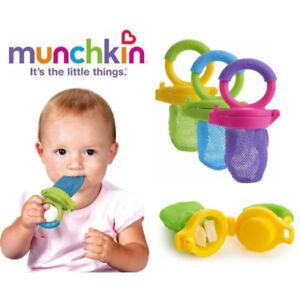 Baby-Weaning-Fresh-Solid-Food-Feeder-Fruit-Veg-Safe-Meal-Dispenser-BPA-FREE