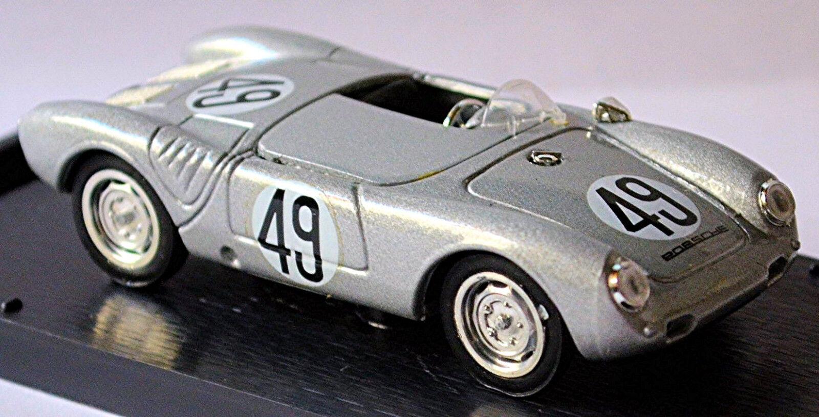 Porsche 550 1500 Rs Spyder Lemans 1955 Veuillet - Arkus-Duntov 1 43 Brumm