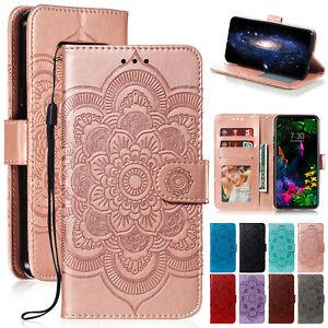 Pour-LG-Stylo-6-5-4-V40-G8s-G8-THINQ-Case-Magnetique-Flip-Portefeuille-Cuir-Cover