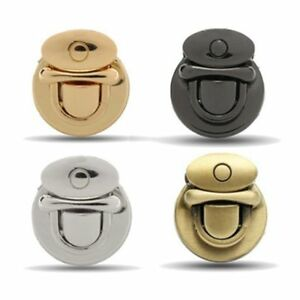 Image Is Loading Buckle Round Twist Lock Hardware For Bag Shape