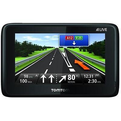 TomTom GO 1000 LIVE + 2 Jahre Kartenupdates EUROPA 45 L. HD-Traffic IQ Fahrspur.