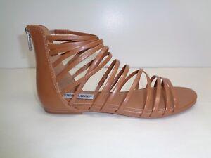 dcf2de44d1dc Steve Madden Size 7.5 M WALLIS Tan Gladiator Strappy Sandals New ...