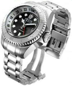 Invicta-Reserve-16957-52mm-Hydromax-Swiss-Made-GMT-Stainless-Steel-Mens-Watch