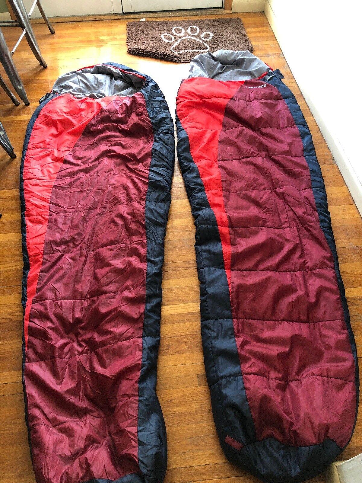 High Peak Redwood Matched Sleeping Bags
