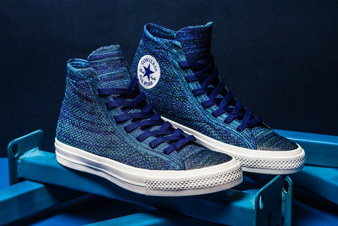 CONVERSE CHUCK TAYLOR ALL STAR HI FLYKNIT Homme Chaussures Taille 12  NEW 157507C