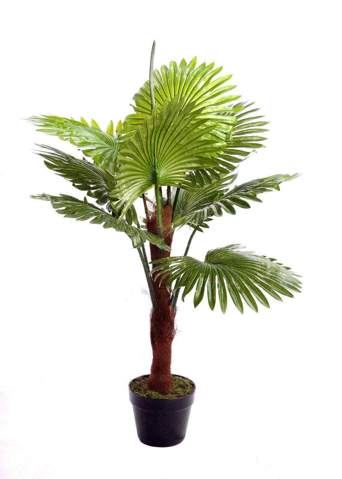 negozio online Migliore Artificiale 4 4 4 FT (ca. 1.22 m) 120 cm Fan Palma Tropicale Ufficio delle Piante Serra NUOVO  spedizione veloce in tutto il mondo