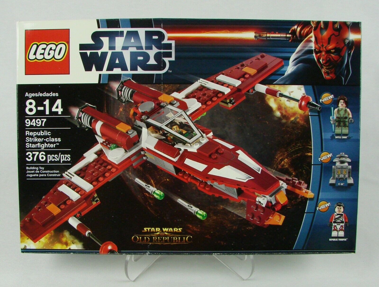 Lego  Star Wars  Republic Striker-Class Starfighter   376 pc (2012) NISB