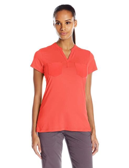 ExOfficio Womens Wanderlux Henley Short Sleeve Top