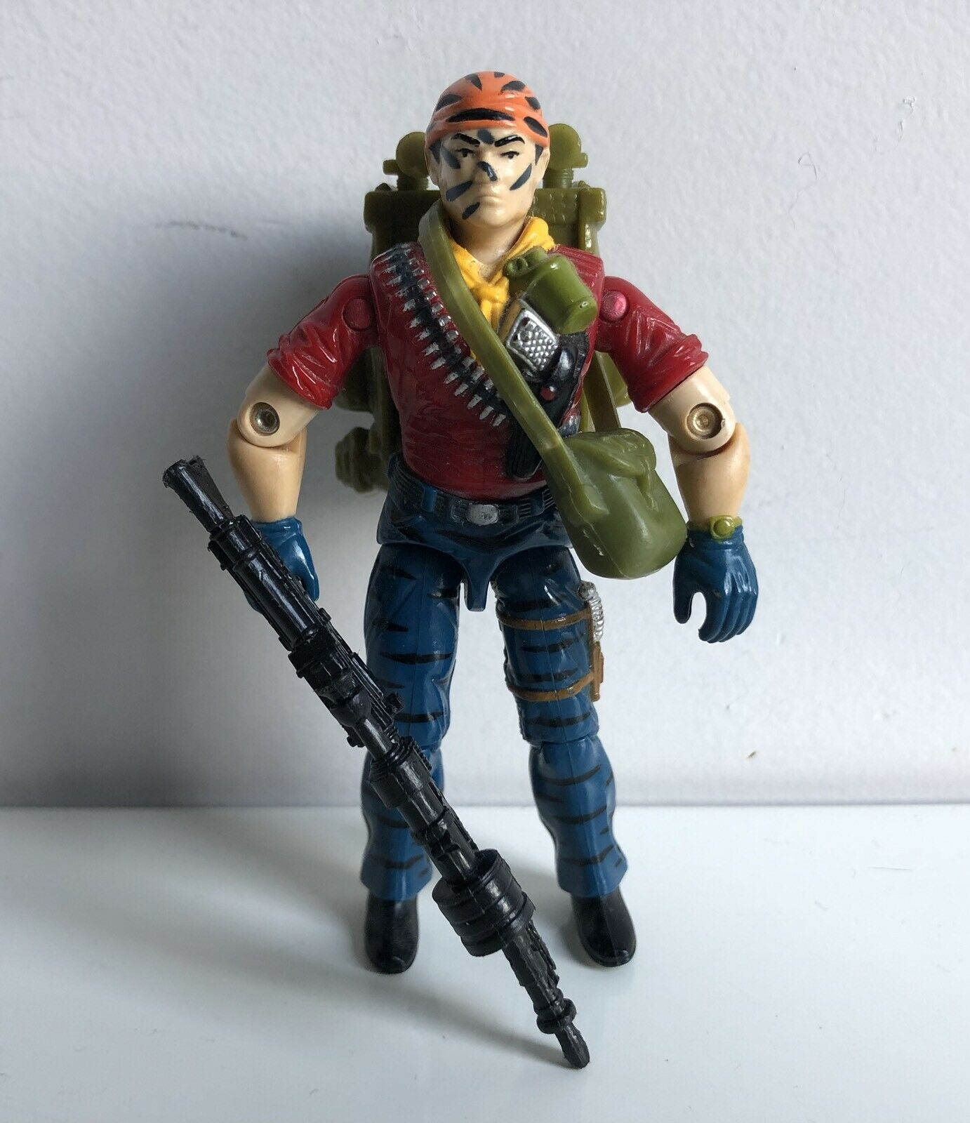 GI JOE TUNNELRAT TIGER FORCE 100% COMPLETE C9+ EURO REPAINT RARE
