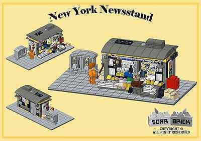Italy Market Custom instruction consisting of LEGO elements