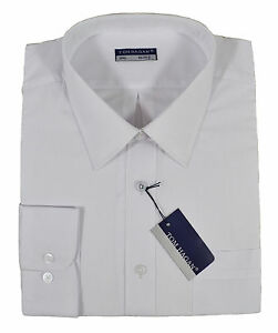 Mens Big Size Tom Hagan Long Sleeve Casual//Formal Shirt Size 3XL-6XL Black White