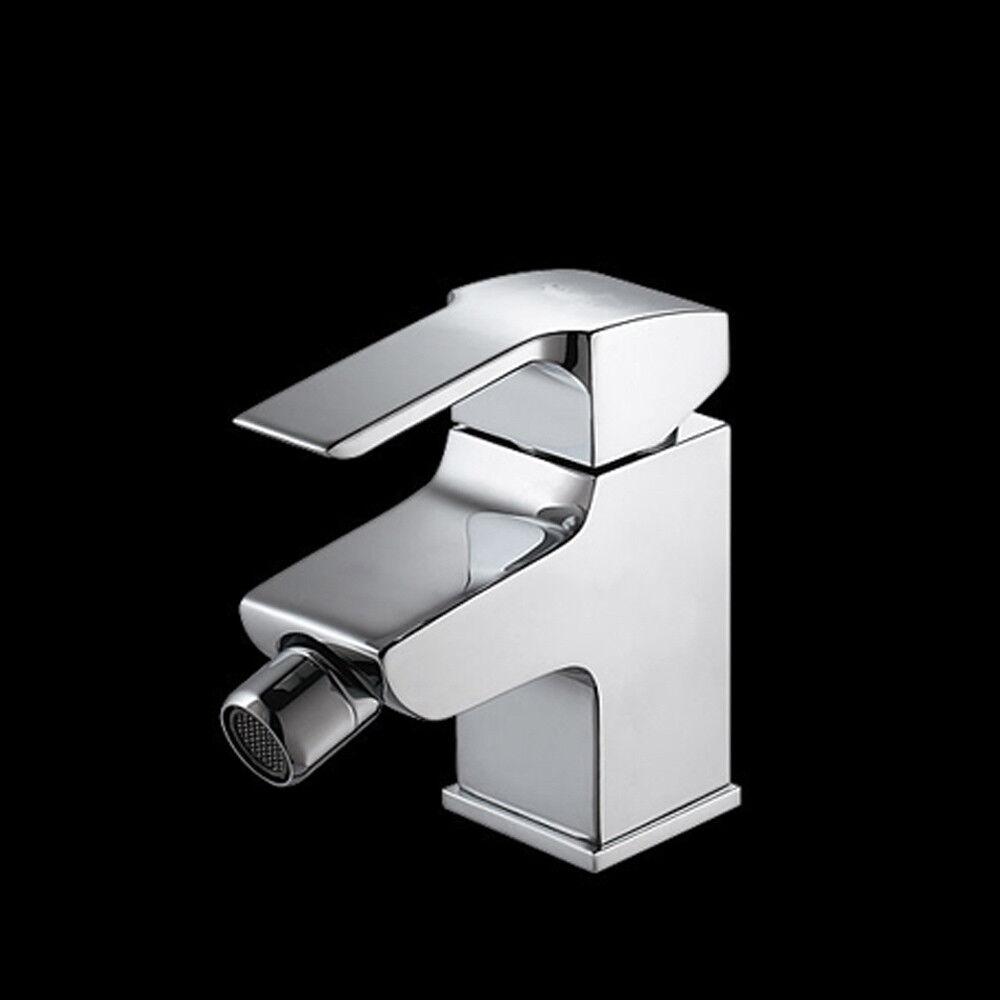 360° Bidetarmatur Mischbatterie Bidet Armatur Wasserhahn Einhebelmischer Chrom