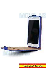 597b204c2b5 artículo 1 Funda Flip Apple Iphone 6 / 6S 4.7´ TPU / Piel tapa vertical  tarjeta azul -Funda Flip Apple Iphone 6 / 6S 4.7´ TPU / Piel tapa vertical  tarjeta ...