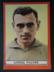 Sicker Sammelbild 22? Lorenz Fischer VfB Stuttgart 1963/64 Fußballalbum