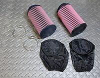 2 X Yamaha Banshee K&n Style Air Filters 33 34 35 36 Carbs Outerwears 35mm