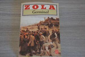 Details Sur Emile Zola Germinal Le Livre De Poche Texte Integral Ref E1