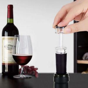 Vakuumpumpe-Wiederverwendbare-Bottle-Cap-Stopper-Sealer-Luftdicht-Wein-Bier-DE