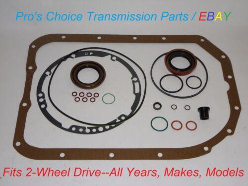 External Reseal Kit Fits All 1991 /& Later GM 4L80E 4L85E MT1 MN8 Transmissions