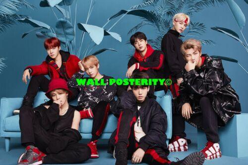 BTS Choose Size /& Media F Canvas or Poster Hip Hop Rap Poster