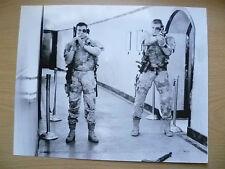Unsigned Press Photos(8 x 10)-JEAN CLAUDE VAN DAMME & DOLPH LUNDGREN~Universal S