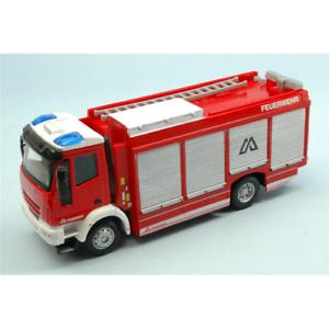 IVECO MAGIRUS FEUERWEHR 1:50 Burago Pompieri Die Cast Modellino