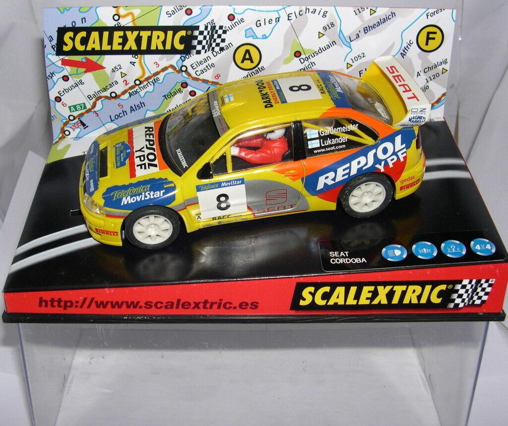 Scalextric 6045 Seat Cordoba E2  8   Costa Brava 2002   Gardemeister-Lukander MB
