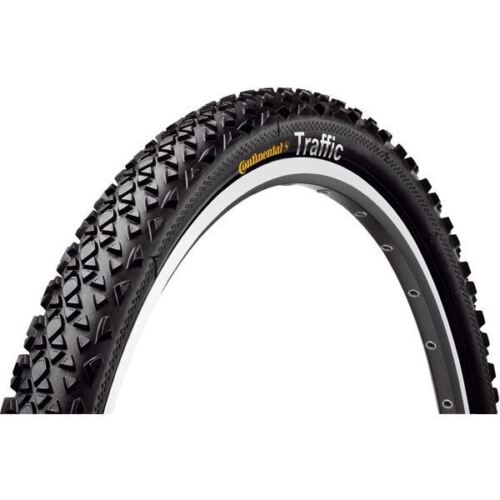 "Continental Traffic 24 x 1.75/"" Black Reflex Tyre"