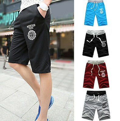 Men's Casual  Shorts Pants Gym Trousers Sport Jogging Trousers  1CAMG