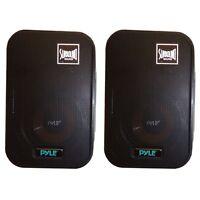 Pyle Pdmn38 Pair Of 3.5 2-way Bass Reflex Monitor Bookshelf/wall Speakers