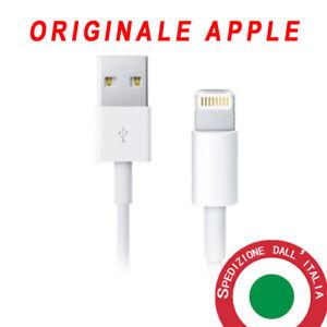 Cavo-dati-ORIGINALE-Apple-lightning-usb-IPHONE-5-6-7-8-X-Plus-iOS11-iPad-cavetto