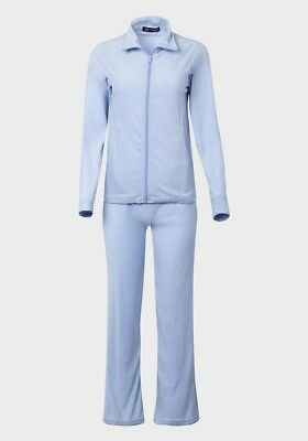 Cambridge Classic Ladies Fleece Blue Straight Leg Lounge/tracksuit Sizes S,m,l
