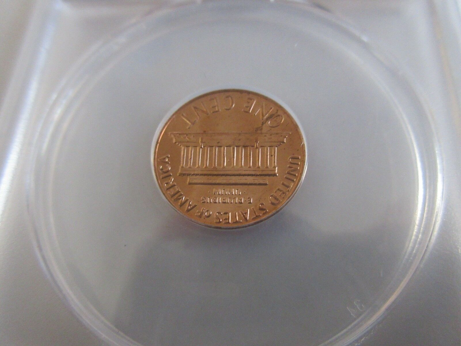 1970-S , Lincoln Penny , Large Date , MS 64 , Red , ANA