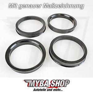 4x-Centering-Ring-63-3-mm-54-1-Diameter-mm-NEW