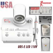 Woodpecker Dental Ultrasonic Scaler Uds E 110v Led Handpiece Ems